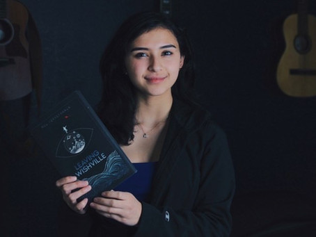 Teen who wrote and published her own novel shares her journey