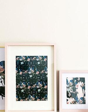 The Walled Flower Garden Print