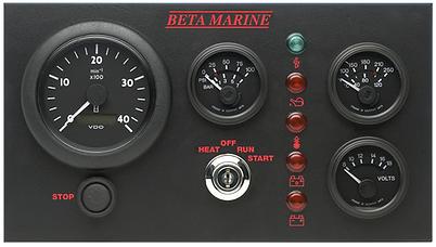 Beta Marine Control Panel 'C' Deluxe