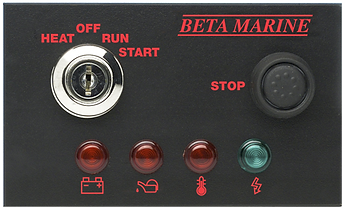 Beta Marine Control Panel A