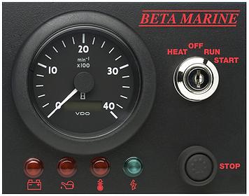 Beta Marine Control panel 'ABV'