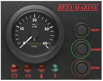 Beta Marine Control Panel 'ABVW'