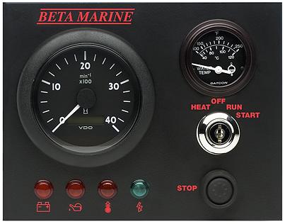 Beta Marine Control Panel B
