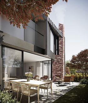 Kindred Glen Iris north facing living space
