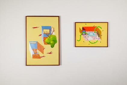 Opening new doors Paintings Esther Vandenbroele