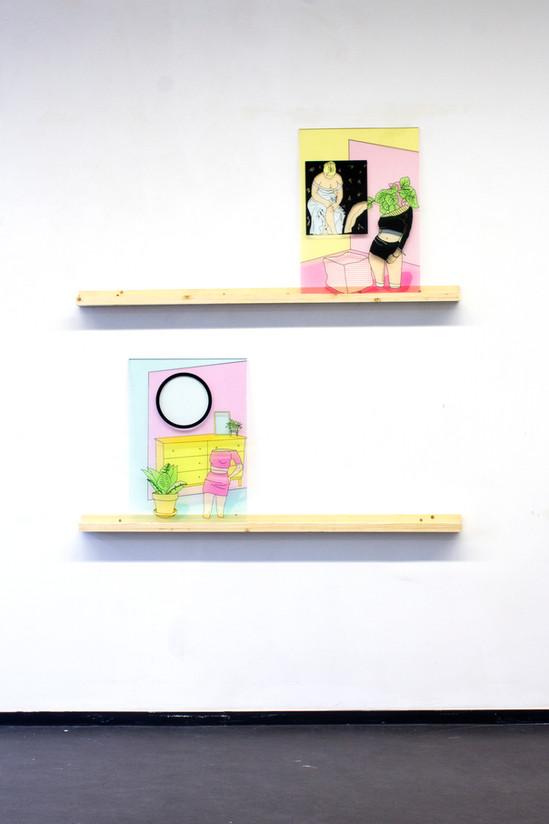 On display Esther Vandenbroele