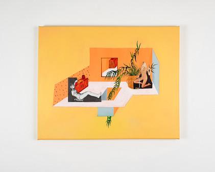Museum of Me Painting Esther Vandenbroele