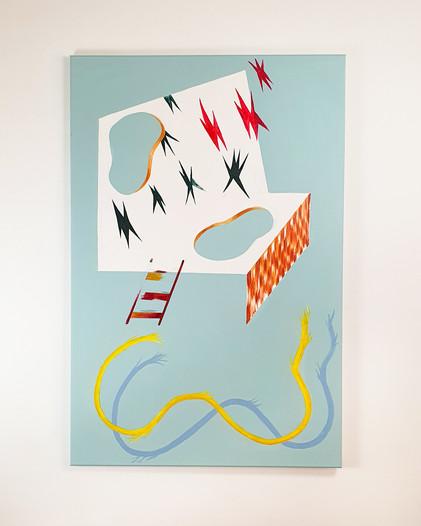 Zeeman Sailor Painting Esther Vandenbroele