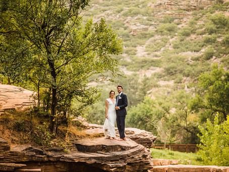 Intimate Colorado Wedding | Stephen and Molly