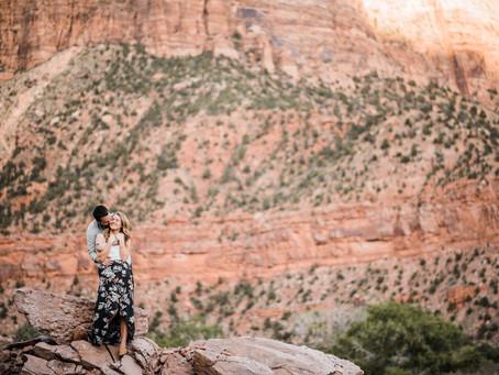 Zion National Park, Utah | Ryan and Darcie