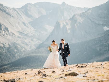 Sprague Lake Elopement | A Rocky Mountain National Park Intimate Wedding