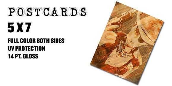 ORDER POSTCARDS 5x7 Starting at $90