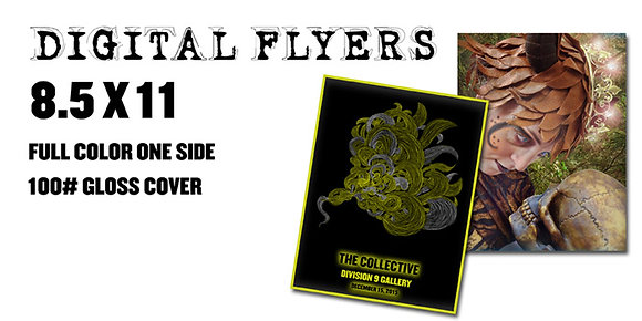 ORDER DIGITAL FLYERS Starting at $50