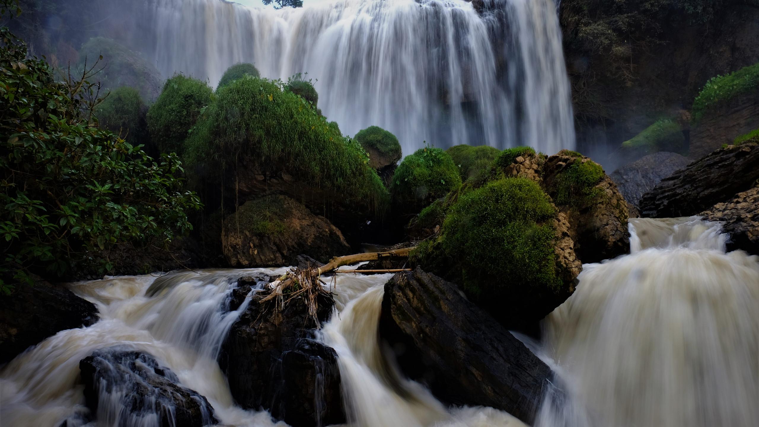 Elephant waterfall.