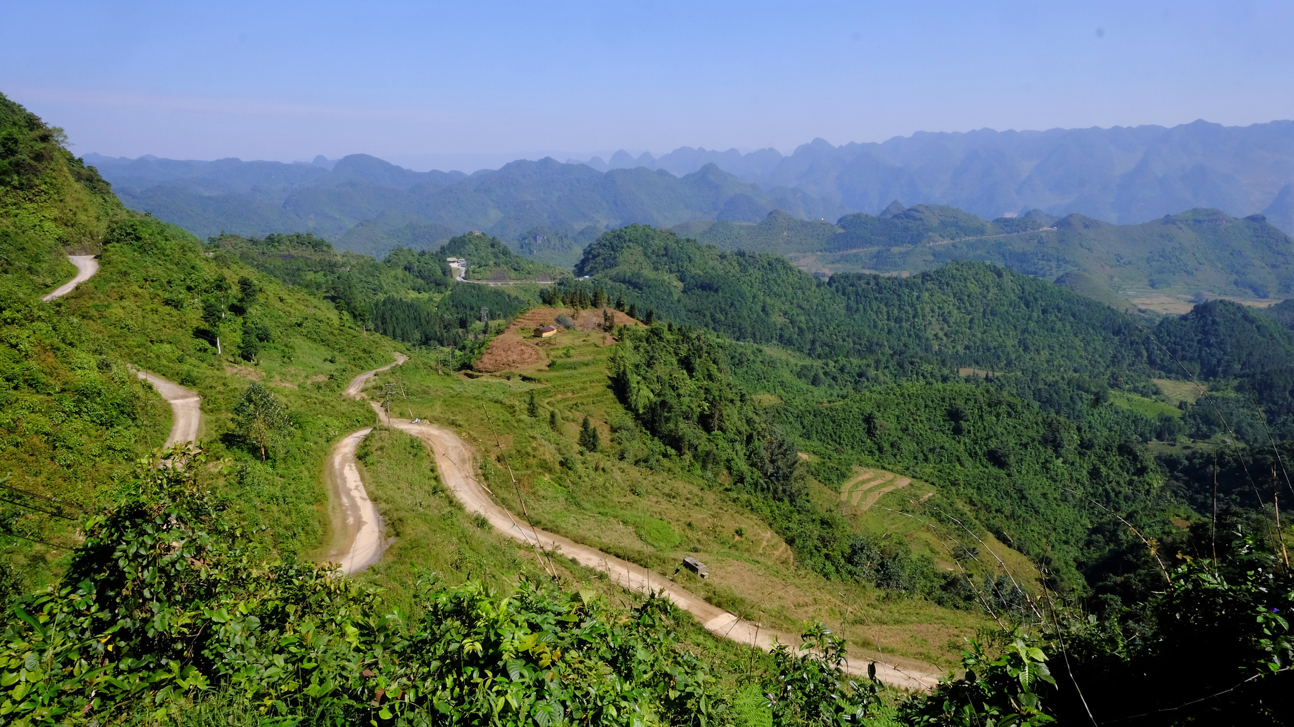 Paysage du Nord Vietnam