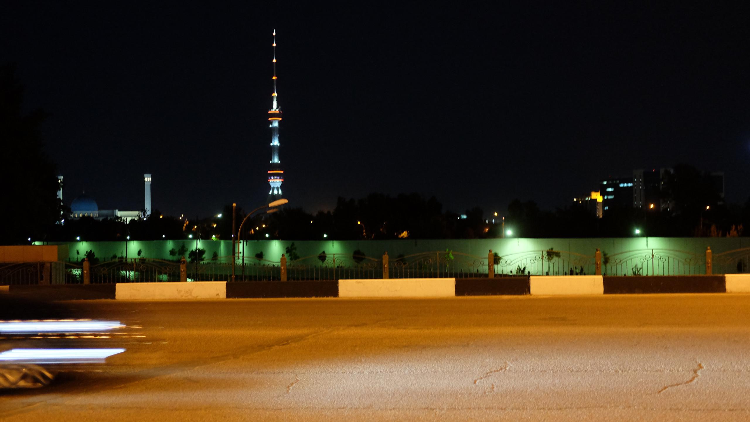 Tv Tower et mosquée