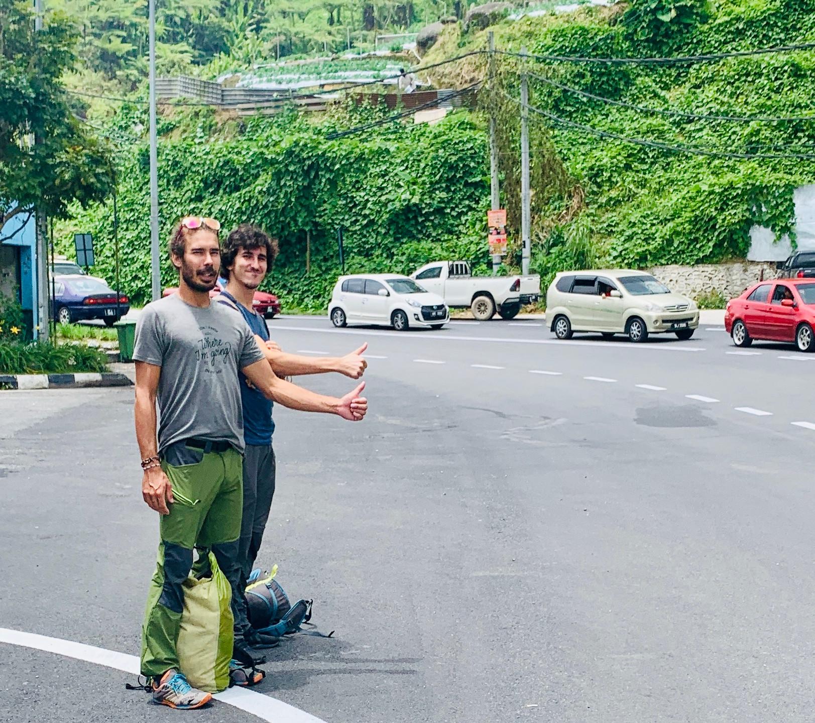 En mode autostop
