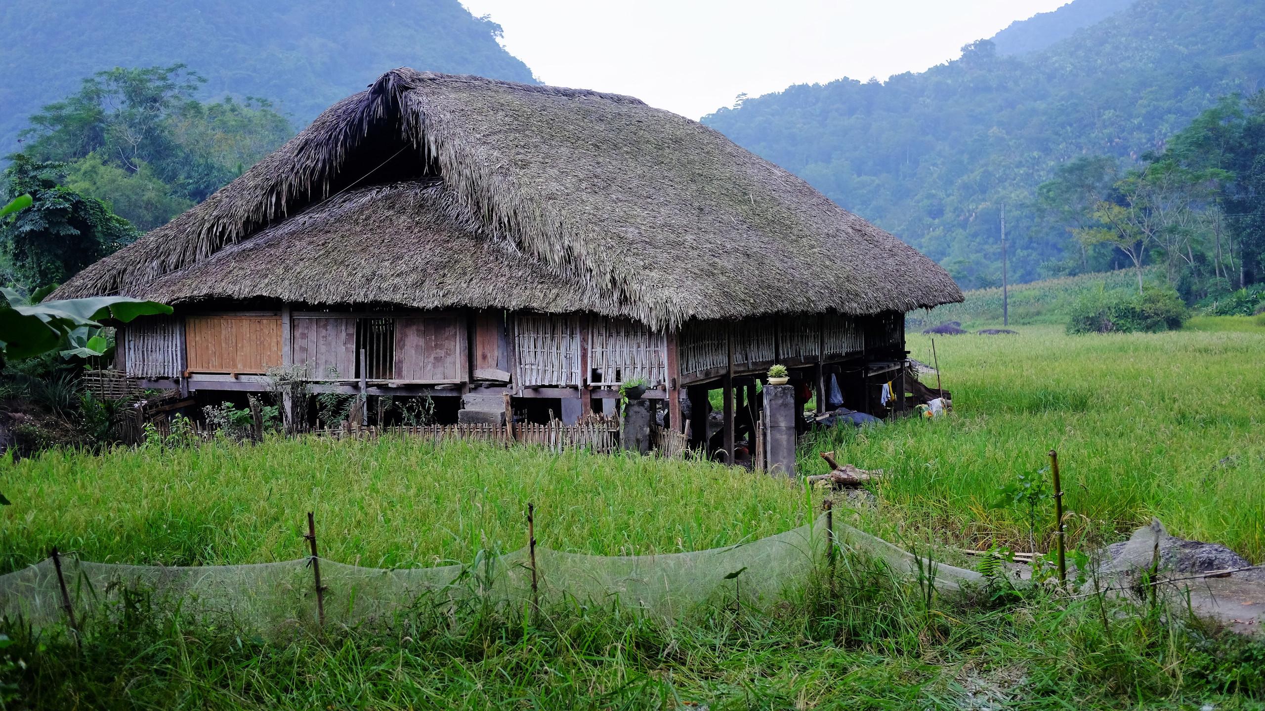 Maison traditionnelle aménagée en gîte.