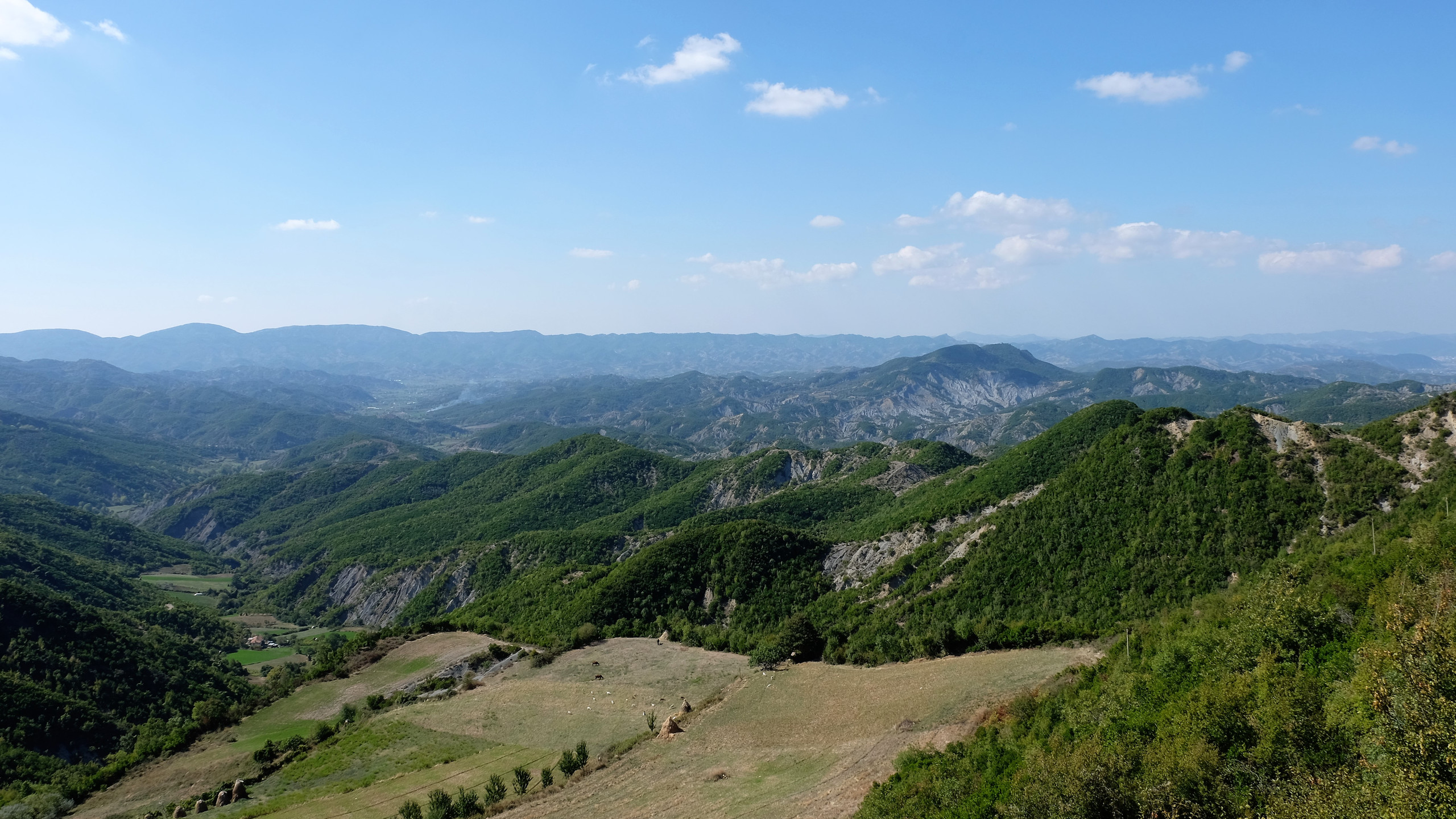 Panorama sur l'Albanie