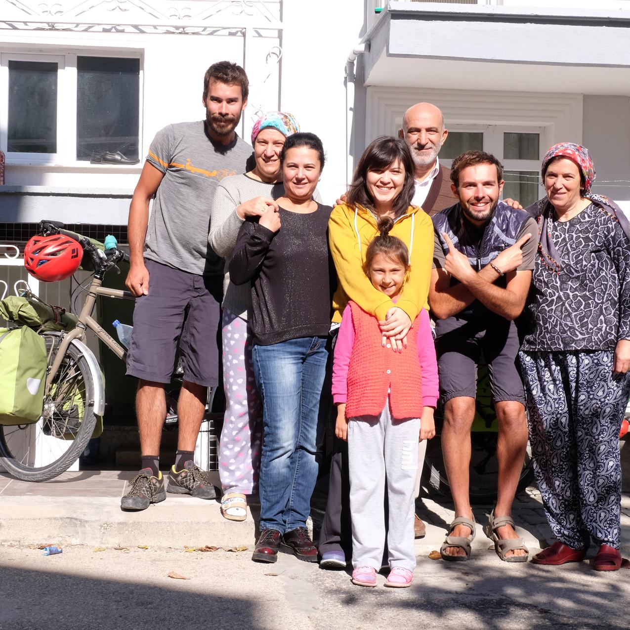 Eda et sa famille