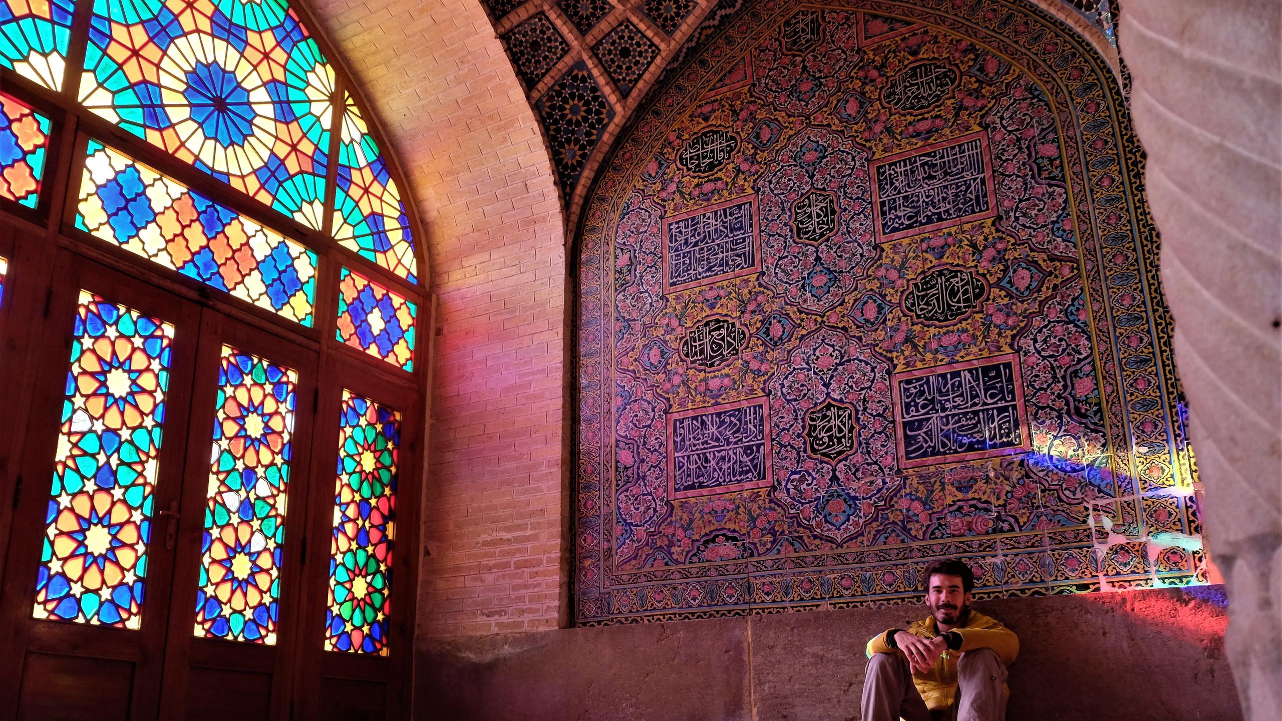 Shiraz, la mosquée rose