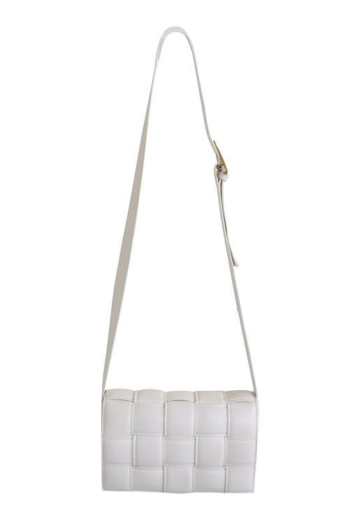 SQUARE BAG WHITE