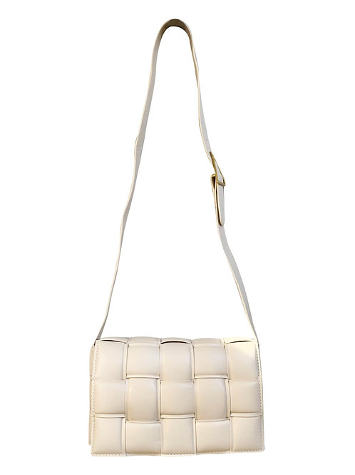 SQUARE BAG BEIGE