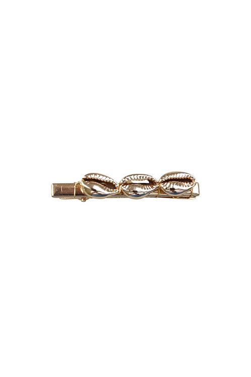 SHELL GOLD CLIP