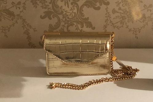 Handtasje goudkleurig