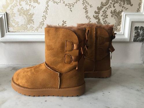 Warme boots met strikjes 🎀