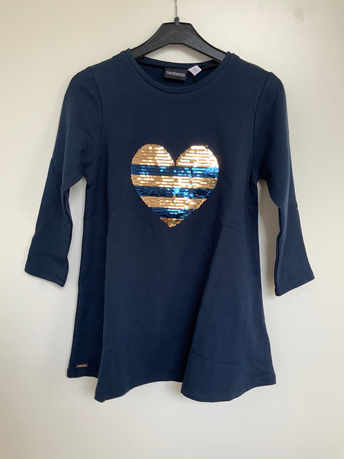 Tuniek/kleedje Sarabanda donkerblauw
