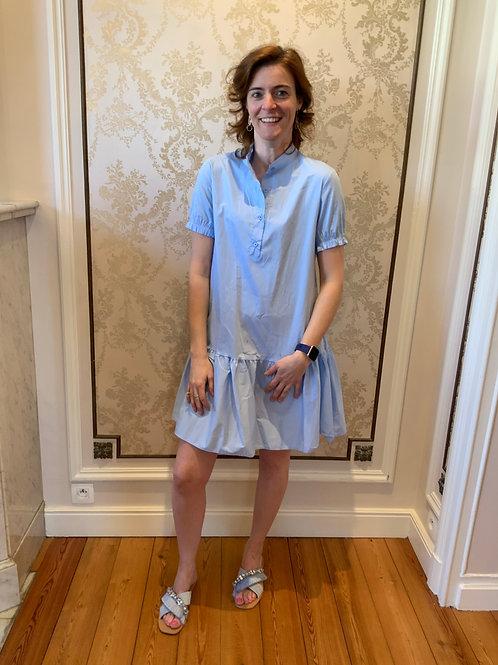 Trendy kleedje blauw
