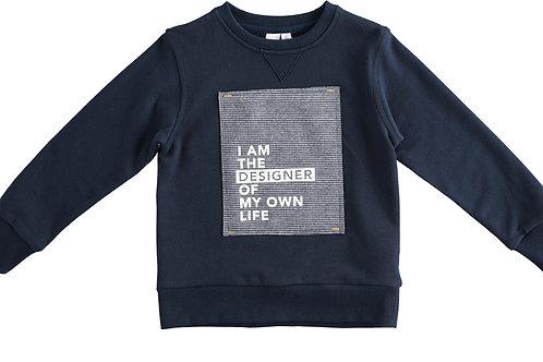 Hippe sweater iDO donkerblauw