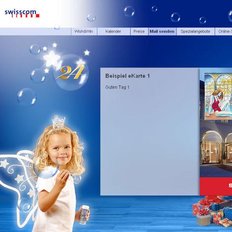 Swisscom Online Kampagne