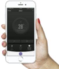 Aplicacion para manejar las estufas Wacovi por wifi