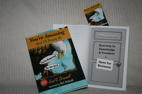 You're Amazing And I'll Prove It! Hardcover Book