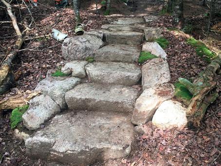 More pleasurable hikes thanks to hardworking crews