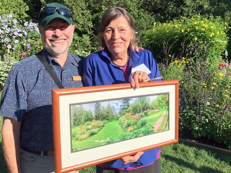 Thuya Lodge docent Ellen Gilmore retires