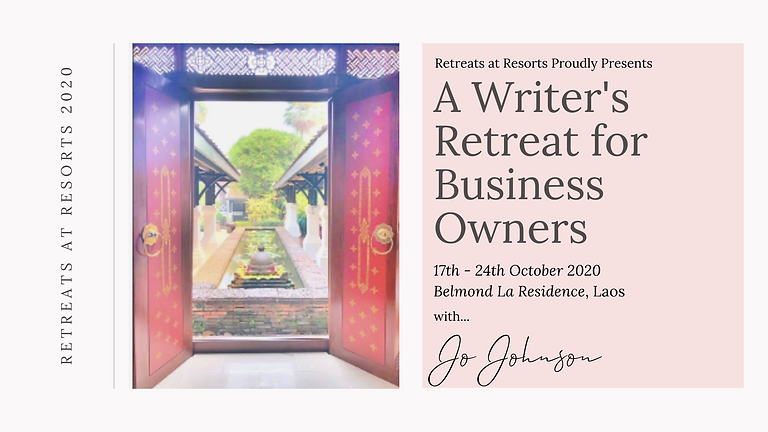 A Writer's Retreat for Business Owners