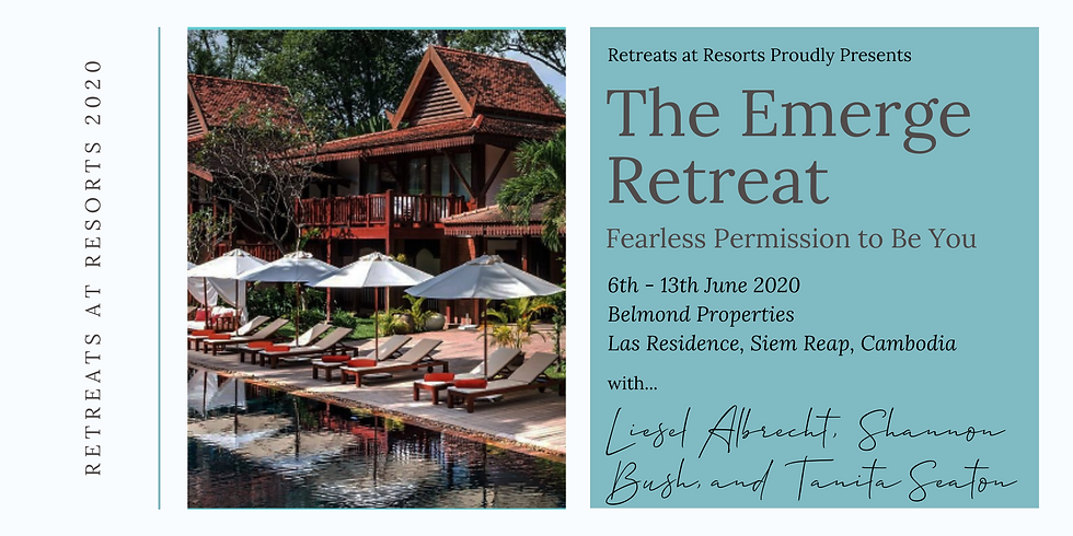 Cambodia - The Emerge Retreat: Fearless Permission to Be You