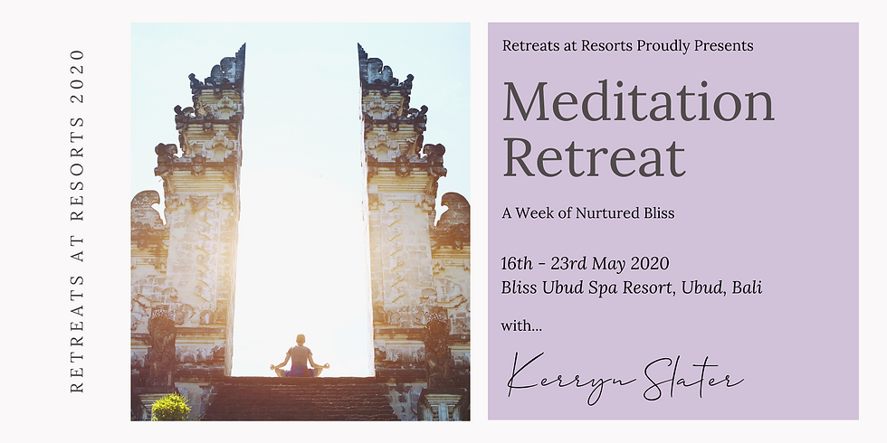 Meditation Retreat - A Week of Nurtured Bliss