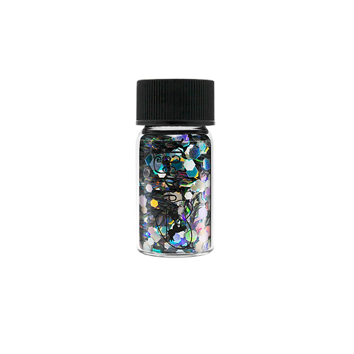HEXAGONS (TARA) Magpie Glitter Shapes 4g Jar