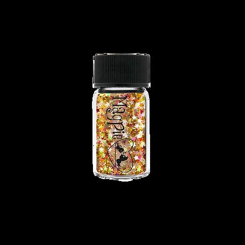 STARS (GABBY) Magpie Glitter Shapes 3g Jar