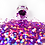 Thumbnail: HEXAGONS (CAMELLIA) Magpie Glitter Shapes 4g Jar