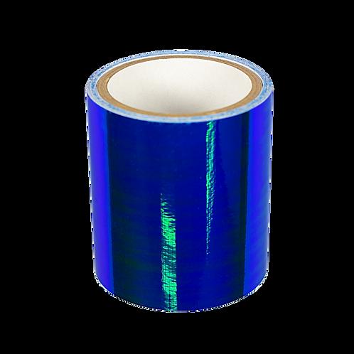 BLUE IRIDESCENT MIRROR 1 m.