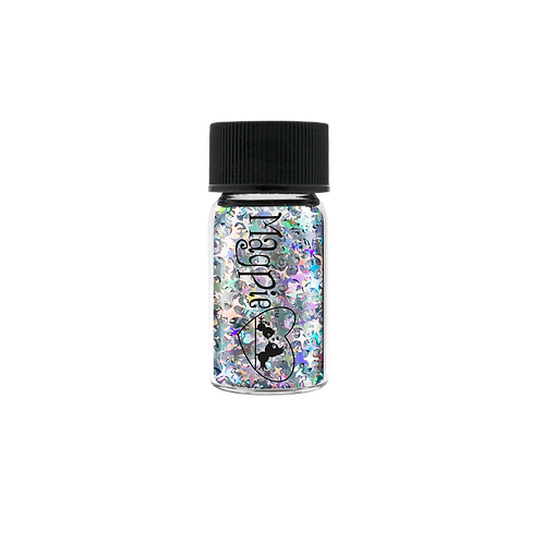 STARY SKY - SILVER Magpie Glitter Shapes 2.5g Jar