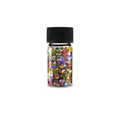 HEXAGONS (GABBY) Magpie Glitter Shapes 4g Jar
