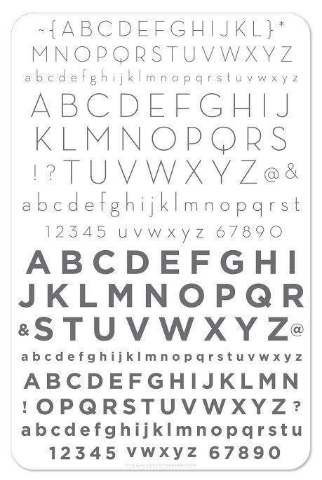 Alphabet Modern (CjS-42)