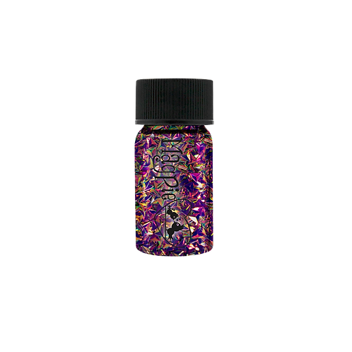 DARK TRIANGLES Magpie Glitter Shapes 4g Jar