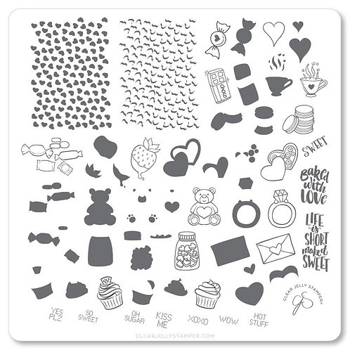Sweets & Treats (CjSV-23) Steel Stamping Plate